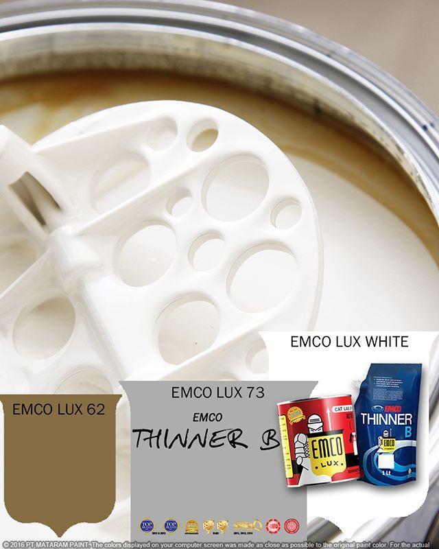 Kawan EMCO, thinner adalah salah satau elemen penting dalam pengecatan. Selain mengencerkan cat, thinner juga membuat cat lebih rata. Bagi Kawan EMCO yang akan mengecat, gunakan EMCO Thinner B untuk mendapat kualitas optimal warna cat EMCO LUX. EMCO Thinner B adalah thinner alkyd dengan formula khusus untuk kayu atau besi. Gunakan Thinner B sebanyak 1/3 volume cat yang dipakai. Hasil cat akan tampak bersinar dan tahan lama.  Dapatkan EMCO Thinner B dan EMCO LUX Cat Kayu dan Besi di toko cat…