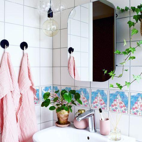 Die besten 25+ Fliesenaufkleber für badezimmer Ideen auf Pinterest - badezimmer fliesen berkleben folie