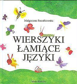 Okładka książki Wierszyki łamiące języki. Dla dzieci w wieku 8- 10 lat.