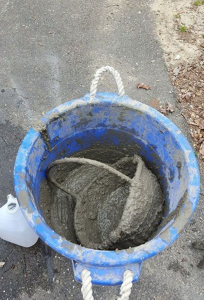 Turn Your Wicker Basket Into a Hypertufa Concrete Garden Basket
