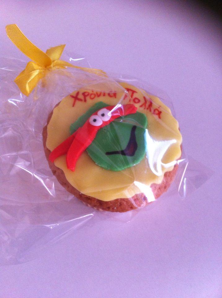 Turtle ninja cupcakes