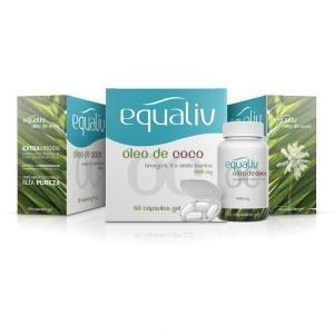 Oleo de côco em cápsulas Equaliv | Amélia Blog - O Óleo de Coco extra virgem em cápsulas da Equaliv é um produto 100% natural.