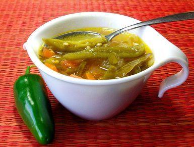 Chiles en vinagre jalapeños en escabeche - foto (c) Robin Grose