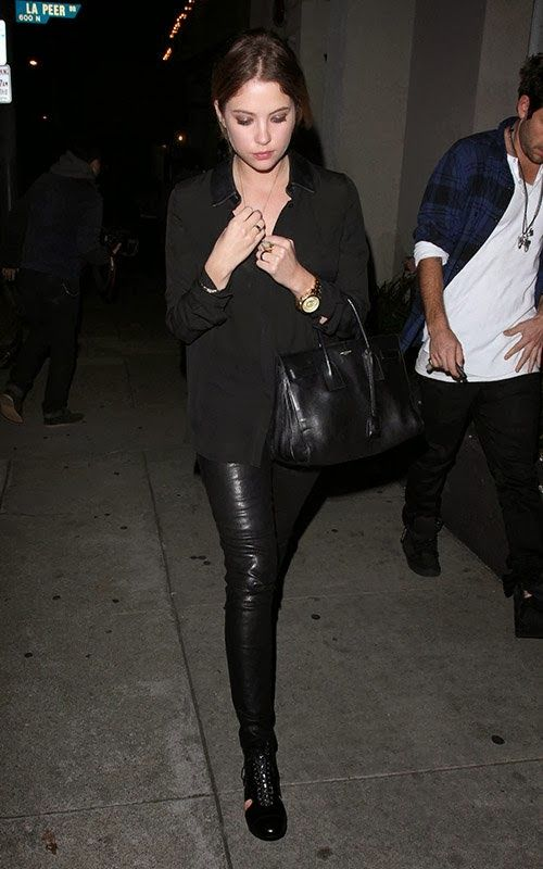 Celeb Diary: Ashley Benson and Ryan Good out for dinner at Craig's restaurant in West Hollywood