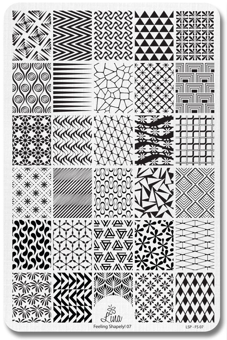 Lina Nail Art Supplies – Feeling Shapely! 07