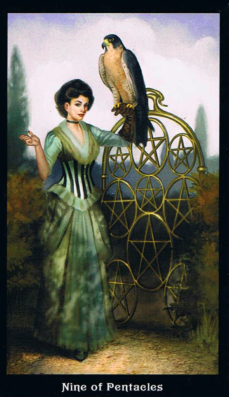 The Pentacles Suit Tarot Cards Meanings In Readings: 33 Best Nine Of Pentacles Images On Pinterest