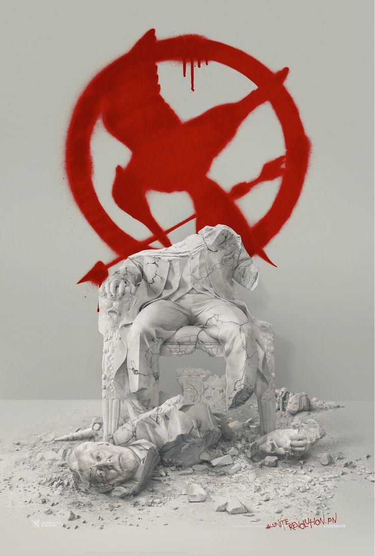 Hunger Games – La Révolte : Partie 2 : une affiche qui annonce la chute du Président Snow - News films Vu sur le web - AlloCiné