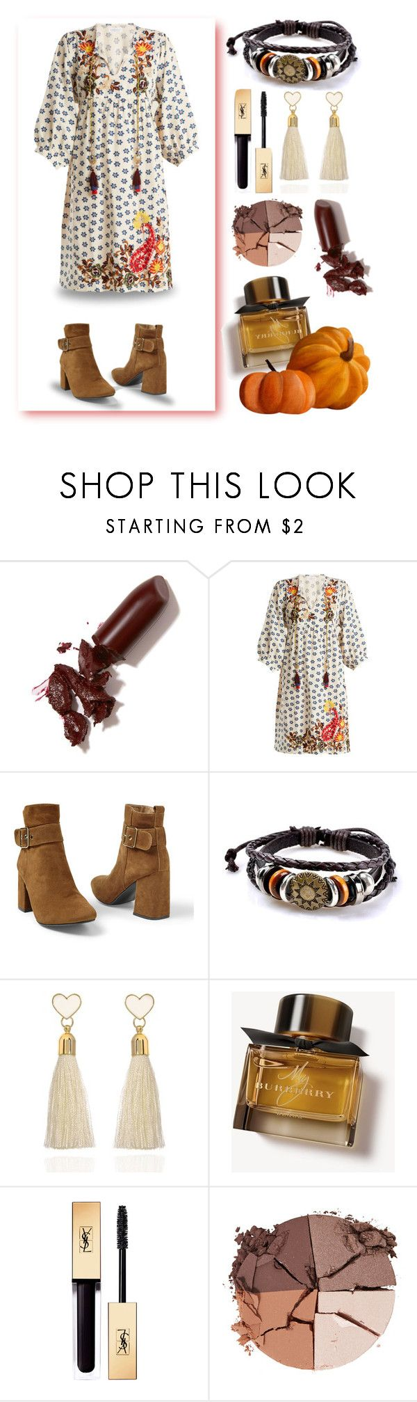 """""""OUTFIT"""" by golden-bird-love ❤ liked on Polyvore featuring LAQA & Co., Velvet by Graham & Spencer, Venus, C.J.M, Burberry and lilah b."""