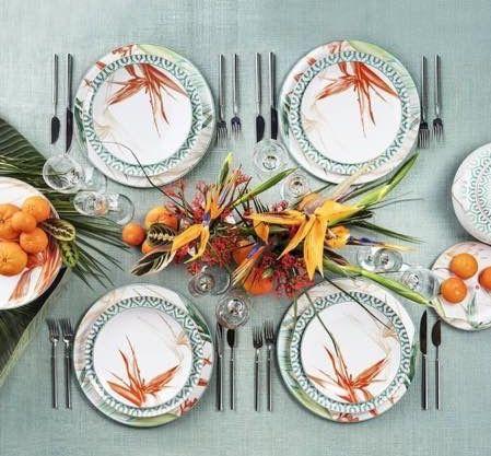 Las 25 mejores ideas sobre cubiertos en la mesa en for Vajilla de platos