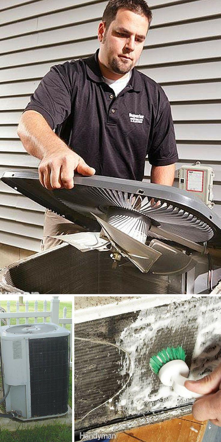 Air Conditioner Repair: Before calling a repair service try these air conditioner repairs. http://www.familyhandyman.com/heating-cooling/air-conditioner-repair