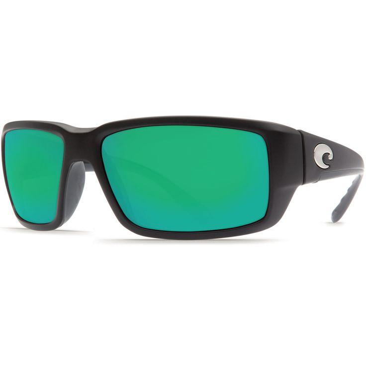 Costa Black/Green Mirror Fantail 580P Sunglasses