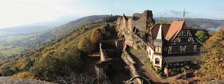 Le château du Haut-Barr.