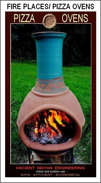 Buy FIRE PLACES/PIZZA OVENS - ANCIENT MAYAN TECHNIQUE for R450.00