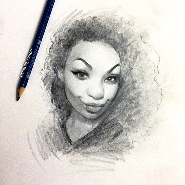 how to make charcoal drawings look real