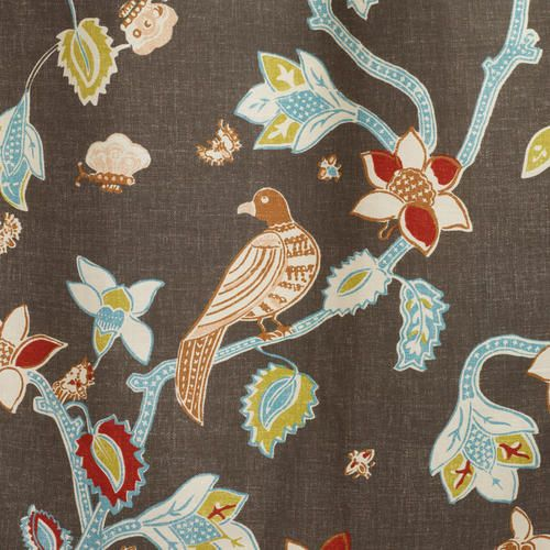 World Market Curtains Pakshi Bird of Paradise Curtain - v2 $39.99 not convinced I like it