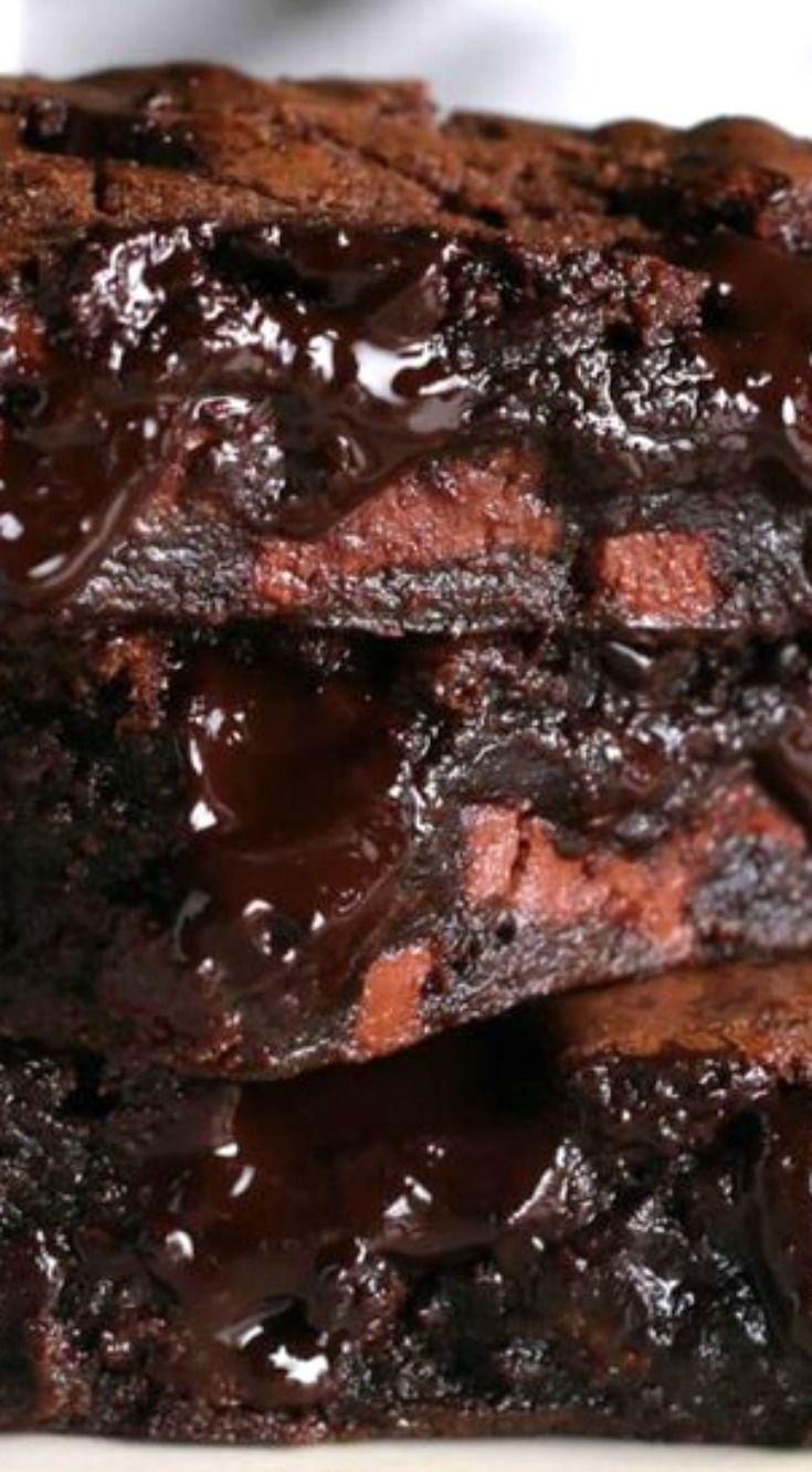 The Best Fudgy Brownies Ever ~ These Brownies Have Literally Taken Over The Dessert Game... Sooooo good!