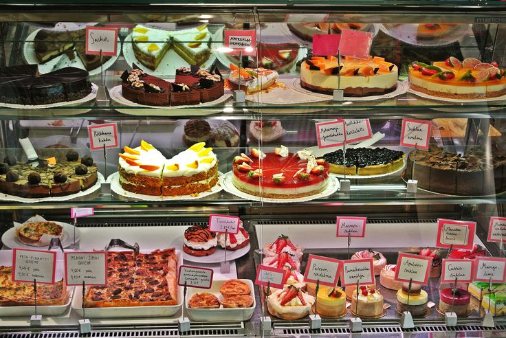 Handmade pastries at Kakkugalleria  #food tour #Helsinki #Finnish food #Scandinavia #pastries
