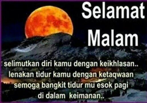 Doa selamat malam