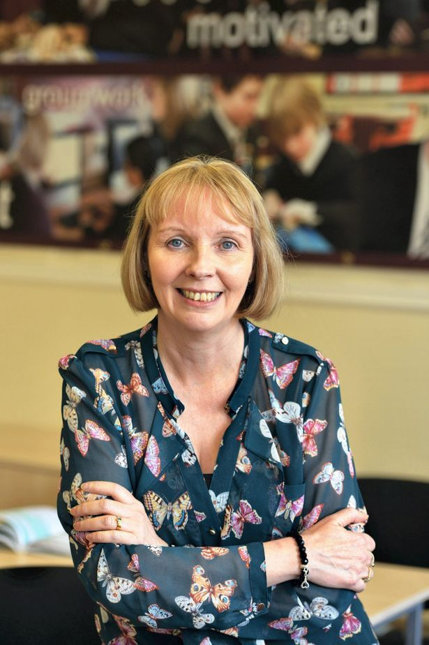 Cheadle Hulme High School headteacher Linda Magrath