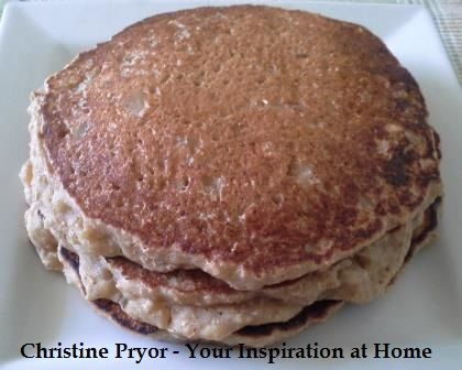 Apple and Cinnamon Pancakes. A lovely twist on the traditional pacakes with diced apple, ricotta cheese, YIAH Apple Pie Baking Spice and YIAH Cinnamon Twist Honey Powder. Visit my Facebook page for the recipe - www.facebook.com/ChristinePryorYIAH