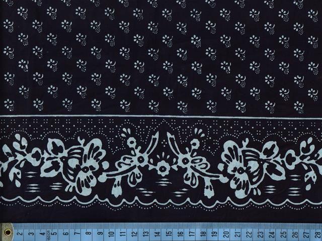Metráž šíře 132 cm, vzor 92 :: Strážnický modrotisk