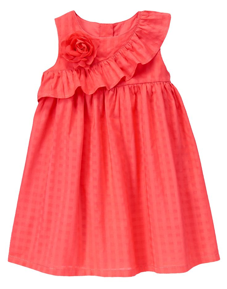 Ruffle Corsage Dress at Gymboree
