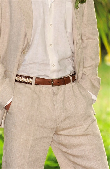 Natural Cream Linen Suit Wedding Linen Pants Linen