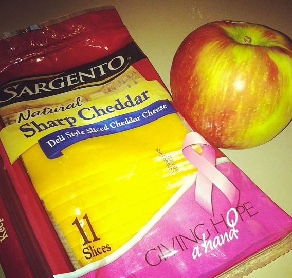 One of my favorite healthy snacks is Sargento Cheese (sticks or slices) with a Michigan Honey Crisp apple. Protein + Fiber = Healthy and Satisfying! #chooseSargentoCheese @Sarah King Cheese @Influenster  *Full disclosure: I received free product in return for this review, though I must admit, I'm addicted and have added it permanently to my grocery list.