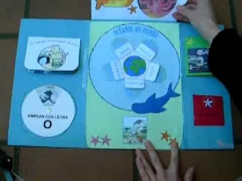 Film prezentujący piękny lapbook na temat oceanów. https://www.youtube.com/watch?v=GnBEtfyuIOk