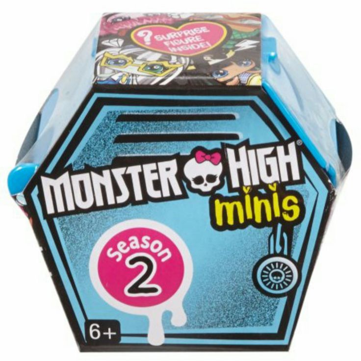 Monster High Minis Season 2 Collectible Mystery Figure Blind Pack Full Case of ×20 Sealed Cofins by Mattel #DYJ30