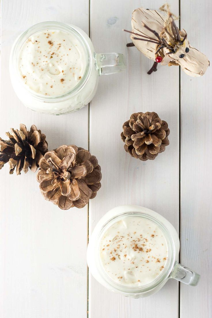 This Eggnog Mousse with Gingerbread Streusel is the perfect make-ahead dessert for your holiday entertaining. | livforcake.com
