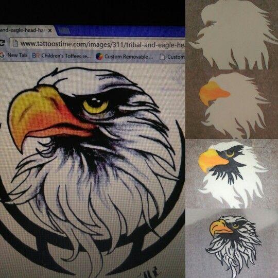 My fondant eagle...