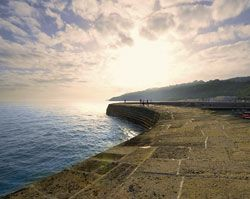 Lyme Regis Dorset - History, photos, tourist attractions. Lyme Regis holiday cottages, hotels and B&Bs