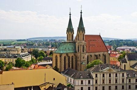 St. Moritz cathedral in Kromeriz - Czech Republic