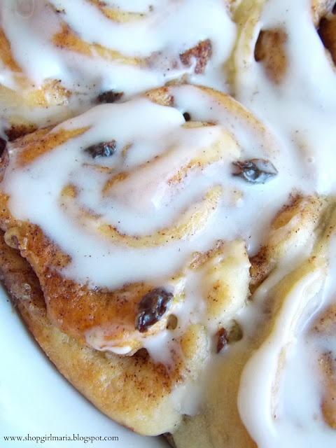 GLAZED CINNAMON RAISIN BUNS | Breakfast Time | Pinterest
