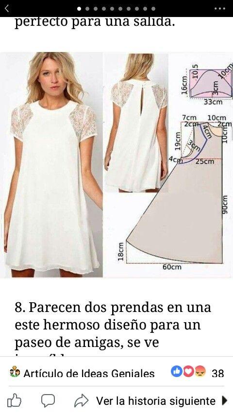 Pin de fabiola pulitta en Elaboración | Pinterest | Costura, Moldes ...