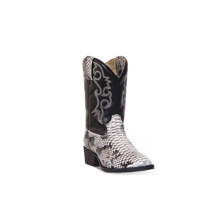 Laredo Snake Pit Kids' Western Boots, Kids Unisex, Size: 10.5T, Oxford