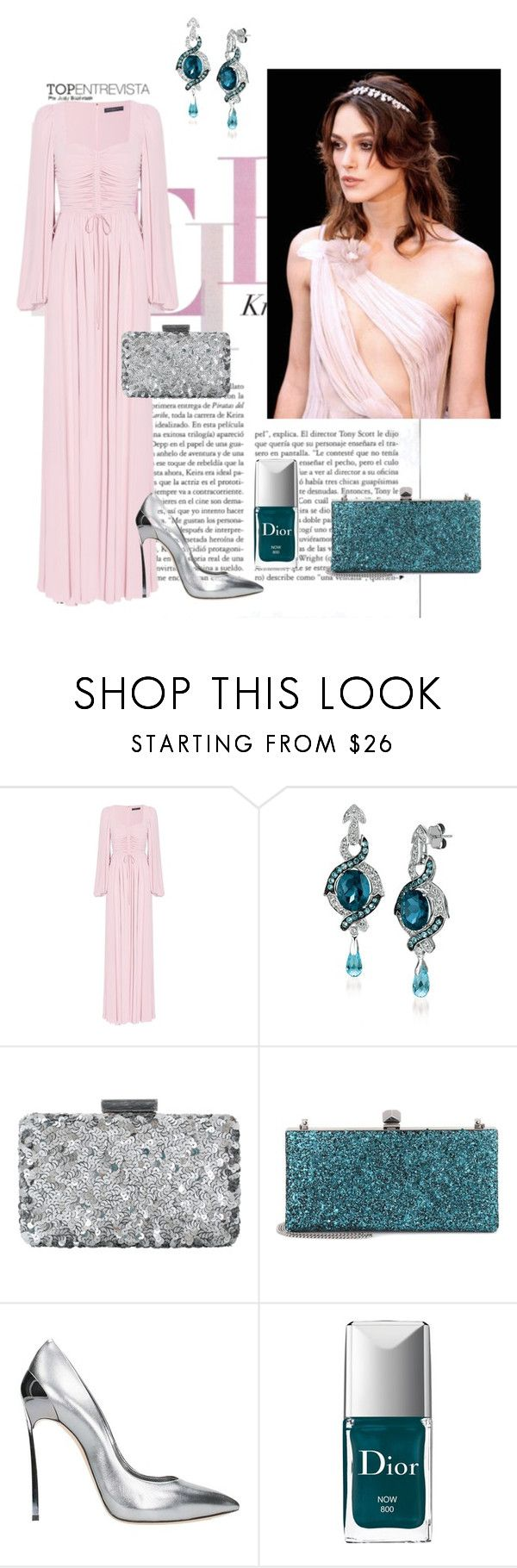 """""""#PolyPresents: Statement Jewelry"""" by ghilby90 ❤ liked on Polyvore featuring Alexander McQueen, LE VIAN, Oscar de la Renta, Jimmy Choo, Casadei, Christian Dior, contestentry and polyPresents"""