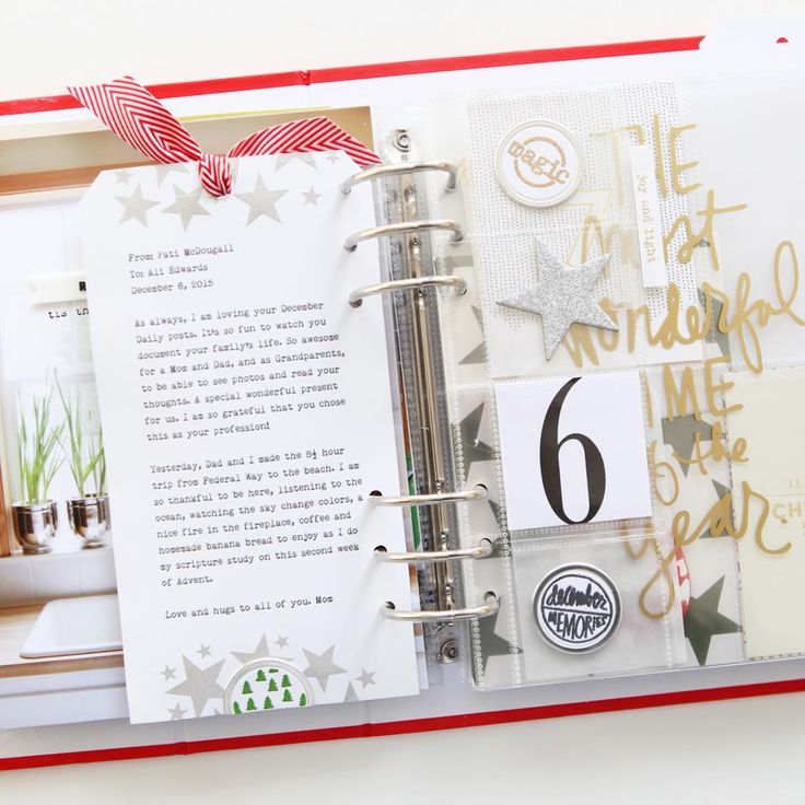 For Day 06 of my #decemberdaily my story is a sweet little email from my Mom. Process video on my blog shows the step-by-step including how to use the joy/star screen + paint from the Main Kit and how I use the Fuse Tool. #decdaily @december_daily #craftthestory