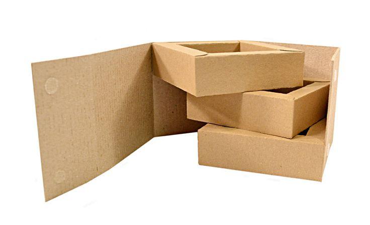 Два типа материалов: двухслойный гофрокартон + экологичный крафт-картон.