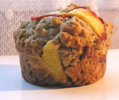 Peaches 'n Cream Muffins | Muffins/Breads | Pinterest