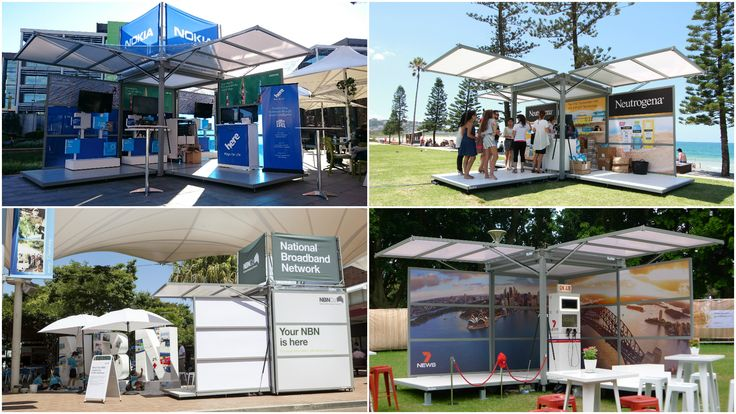 How cool is this mobile pop-up unit? Just ask Nokia, NBN Co., Neutrogena and other companies. Talk to us at exco to learn more about how the Kube can enhance your summer activations and events.