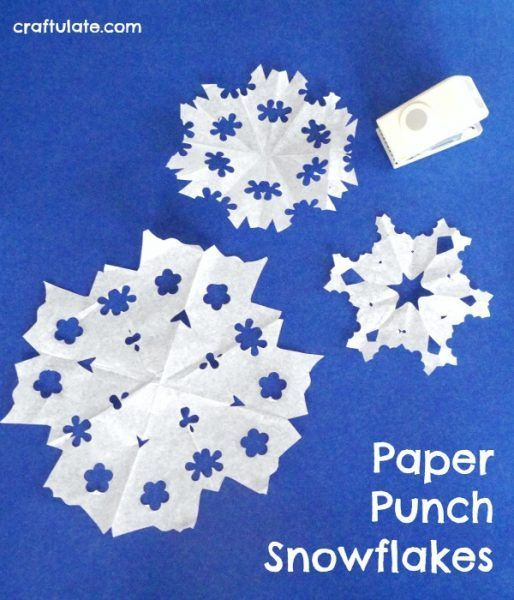 711 best images about winter theme on pinterest for Pre punched paper for crafts