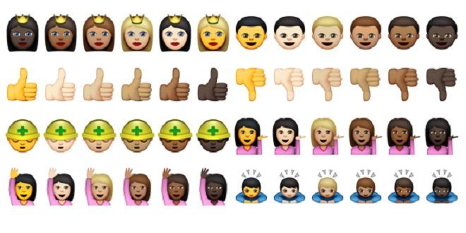 Apple iOS 8.3 to Include Racially Diverse Emoji's - http://techraptor.net/content/apple-ios-8-3-to-include-racially-diverse-emojis | News, Technology
