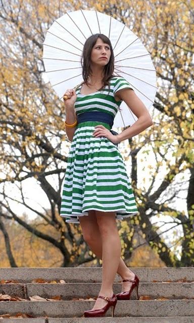 .: Summer Dresses, Spring Dresses, Style, Cute Dresses, Shabby Apples, Apples Dresses, Green Stripes, Stripes Dresses, Sheep Meadow