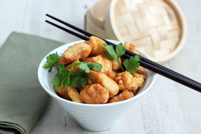 Doing Jade's Bento | Honey mustard chicken