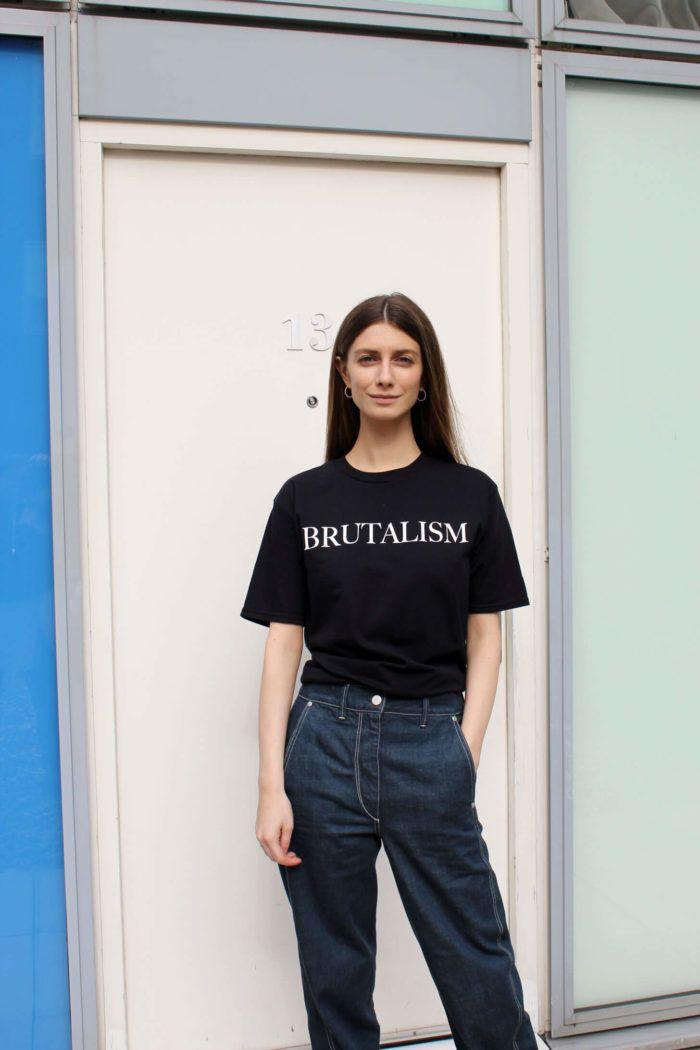 8cac75af6d0f9 Brutalism T-shirt   VETEMENTS   Shirts, Fashion, T shirt