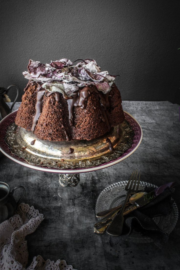 Chocolate, Chai and Beetroot Cake