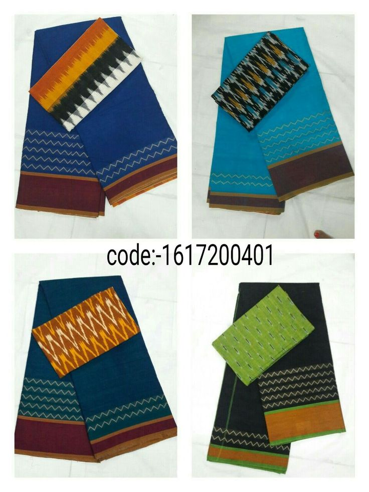 """Grab this Handloom """"Narayanpet sarees"""" stood out in simple design in contemporary shades with """"ikat"""" blouse Mrp- Rs 965/  (for trade inquiries please contact our whatsapp no  Single / Retail Customer ...please contact 8099433433 B2B/Resellers/Bulk buyers...please contact 8801302000)"""