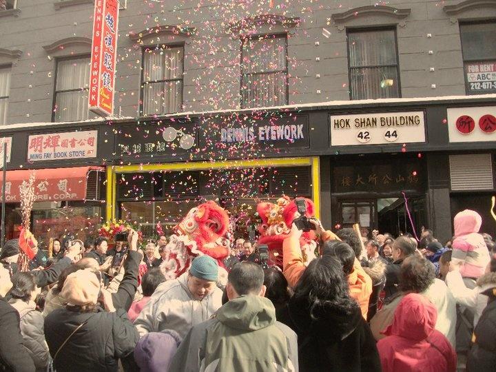 New York City China Town